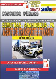 Apostila Digital Concurso SEMUTRAN Ananindeua/PA 2019 - Agente Municipal de Transporte e Trânsito