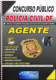 Apostila Impressa Concurso Público Polícia Civil - DF 2020 Agente