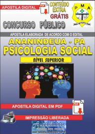 Apostila Digital ANANINDEUA/PA 2019 - Psicologia Social