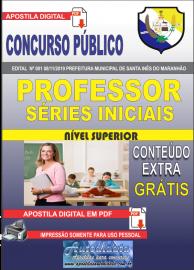 Apostila Digital Concurso Prefeitura Municipal de Santa Inês - Maranhão 2019 Professor Séries Iniciais