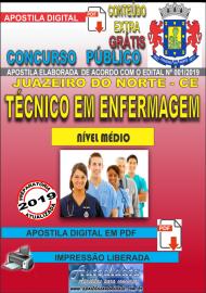 Apostila Digital Concurso JUAZEIRO DO NORTE - CE - 2019 - Técnico em Enfermagem