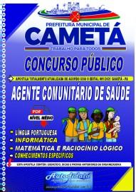 Apostila digital concurso de CAMETÁ-PA 2021 - AGENTE COMUNITÁRIO DE SÁUDE -ACS