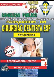 Apostila Digital Concurso PARNAMIRIM – RN/2019 - Cirurgião Dentista ESF