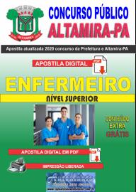 Apostila Digital Concurso Prefeitura de Altamira - PA 2020 - Enfermeiro