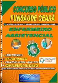 Apostila impressa concurso da Fundação Regional de Saúde Funsaúde-CEARÁ 2021 - ENFERMEIRO ASSISTENCIAL
