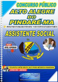 Apostila Digital Concurso Público Alto Alegre do Pindaré - MA 2020 Assistente Social