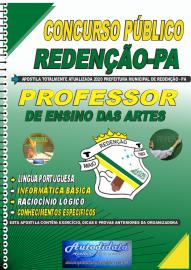 Apostila Impressa Concurso Público Prefeitura de Redenção - PA - 2020 Professor de Ensino das Artes
