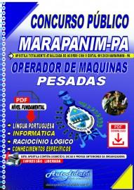 Apostila Digital Concurso Público Prefeitura de Marapanim - PA 2020 Operador de Máquinas Pesadas