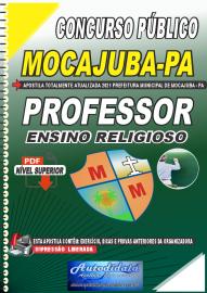 Apostila Digital Concurso Público Prefeitura de Mocajuba - PA 2021 Professor de Ensino Religioso