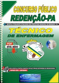 Apostila Digital Concurso Público Prefeitura de Redenção - PA 2020 Técnico de Enfermagem