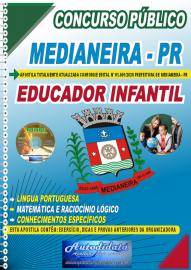 Apostila Impressa Concurso Público Prefeitura de Medianeira 2020 Educador Infantil