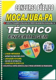 Apostila Impressa Concurso Público Prefeitura de Mocajuba - PA 2021 Técnico de Enfermagem