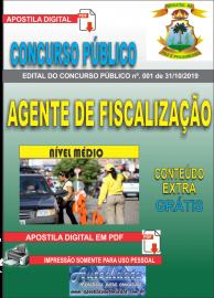 Apostila Digital Concurso - Prefeitura Municipal de Imperatriz - MA 2019 - Agente Fiscalização