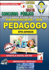 Apostila Digital Concurso PARNAMIRIM – RN/2019 - Pedagogo
