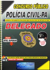 Apostila Digital Concurso Público Polícia Civil do Pará 2020 Área Delegado