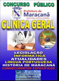 Apostila Impressa Concurso de Maracanã/Pa 2019 – Clínica Geral