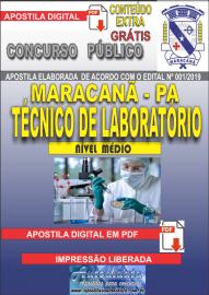 Apostila Digital Concurso de Maracanã/Pa 2019 – Técnico De Laboratório