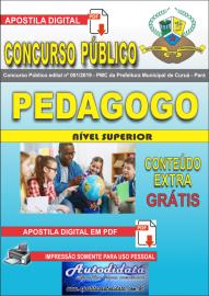 Apostila Digital Concurso Público Prefeitura Municipal de Curuá - Pará 2019 Pedagogo