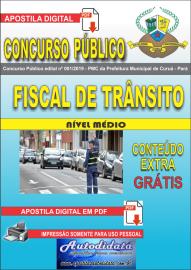 Apostila Digital Concurso Público Prefeitura Municipal de Curuá - Pará 2019 Fiscal  de Trânsito