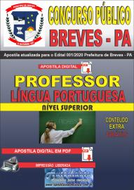 Apostila Digital Concurso Público Prefeitura de Breves - PA 2020 Professor de Língua Portuguesa
