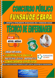 Apostila digital concurso da Fundação Regional de Saúde Funsaúde-CEARÁ 2021 - TÉCNICO DE ENFERMAGEM
