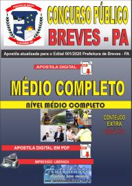 Apostila Digital Concurso Público Prefeitura de Breves - PA 2020 Nível Médio Completo