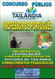 Apostila Impressa TAILÂNDIA/PA 2019 - Professor De Português