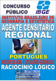 Apostila Digital Concurso do IBGE 2017 - Agente Censitário Regional