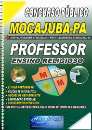 Apostila Impressa Concurso Público Prefeitura de Mocajuba - PA 2021 Professor de Ensino Religioso