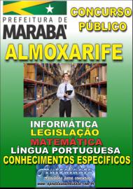 Apostila Digital Concurso MARABÁ - PA 2018 - Almoxarife