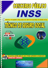 Apostila Digital Concurso INSS 2021 Técnico de Seguro Social