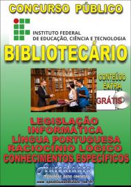 Apostila Impressa Concurso INSTITUTO FEDERAL DE EDUCAÇÃO, CIÊNCIA E TECNOLOGIA DO PARÁ - IFPA - PA - 2019 - Bibliotecário - documentalista