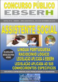 Apostila Impressa Concurso EBSERH - 2019 Assistente Social
