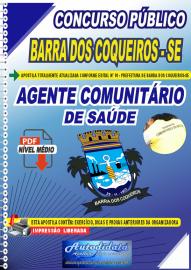 Apostila Digital Concurso Público Prefeitura de Barra dos Coqueiros - SE 2020 Agente Comunitário de Saúde