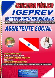 Apostila Impressa Concurso IGEPREV-Instituto de Gestão Previdenciária-PA 2021 Assistente Social