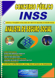 Apostila Impressa Concurso INSS 2021 Analista de Seguro Social