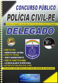 Apostila Impressa Concurso PC-PE 2021 Delegado