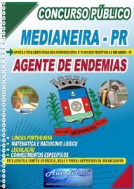 Apostila Impressa Concurso Público Prefeitura de Medianeira 2020 Agente de Endemias