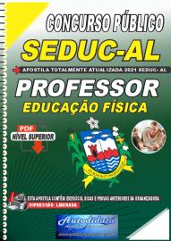 Apostila Digital Concurso SEDUC - AL 2021 Professor de Educação Física