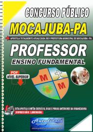 Apostila Dgital Concurso Público Prefeitura de Mocajuba - PA 2021 Professor de Ensino Fundamental