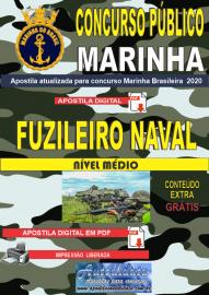 Apostila Digital Concurso Público Marinha do Brasil - 2020 Fuzileiro Naval