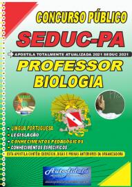 Apostila Impressa Concuso Público Seduc-PA 2021 Professor de Biologia