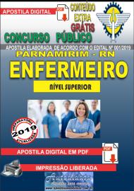 Apostila Digital Concurso PARNAMIRIM – RN/2019 - Enfermeiro