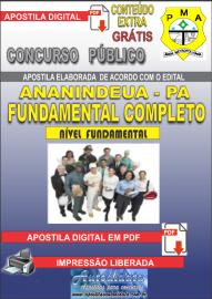 Apostila Digital ANANINDEUA/PA 2019 - Nível Fundamental Completo