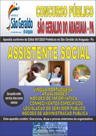 Apostila Impressa Concurso Público Prefeitura Municipal de São Geraldo do Araguaia - PA 2020 Assistente Social