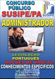 Apostila digital concurso da SUSIPE-PA 2018 - Administrador