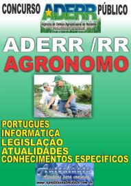 Apostila Impressa Concurso ADERR-RR - ENGENHEIRO AGRÔNOMO