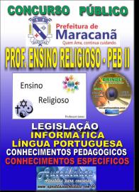 Apostila Impressa MARACANÃ/PA 2019 - Professor Anos Finais – Peb II –Ensino Religioso