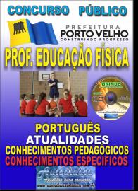 Apostila Impressa Concurso de PORTO VELHO/RO 2019 – Prof Nível II - Educação Física
