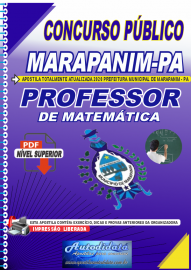 Apostila Digital Concurso Público Prefeitura de Marapanim - PA 2020 Professor de Matemática